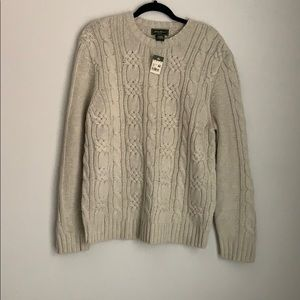 EDDIE BAUER | cable knit chunky sweater